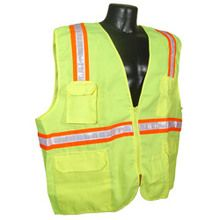 RadiansTwo Tone Surveyor Green/ Dual Safety Vest | Hi Vis Safety Clothing at the lowest Price , Call Us for B2B Pricing almost at wholesale