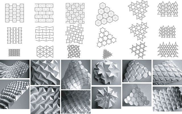 The many styles of origami an folding waves in your paper so fun learning how to do it :)