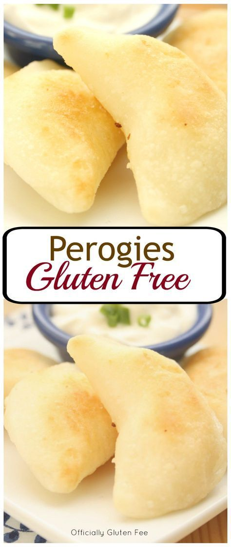Gluten Free Perogies (Substitute arrowroot starch for the cornstarch to make corn free.)