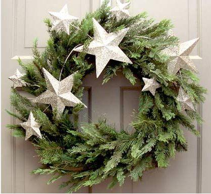Stroik świąteczny fot. pinterest.com