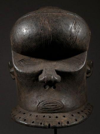 The African mask Kuba.