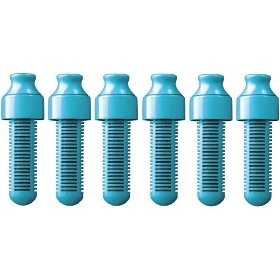Bobble Blue Replacement Filters, Set of 6