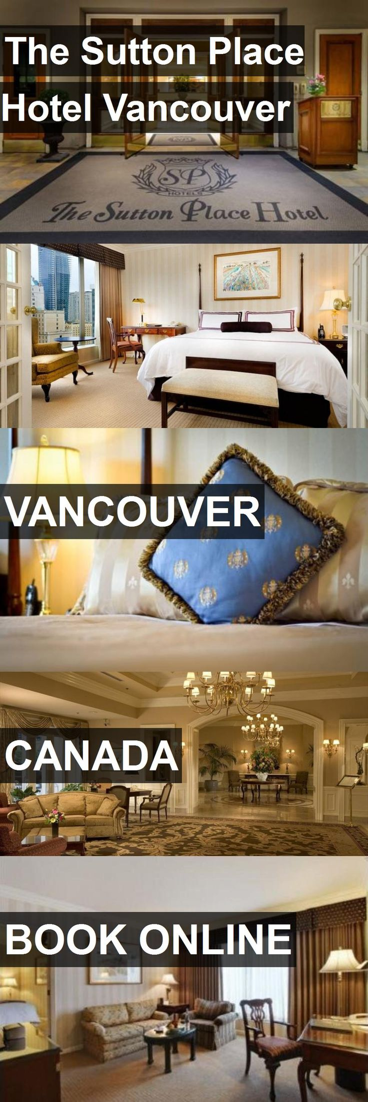 Hotel The Sutton Place Hotel Vancouver in Vancouver, Canada. For more information, photos, reviews and best prices please follow the link. #Canada #Vancouver #TheSuttonPlaceHotelVancouver #hotel #travel #vacation