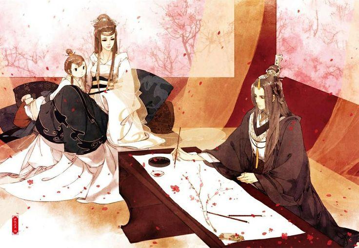 Ibuki satsuki 伊吹五月 .  Tam sinh tam thế thập lý đào hoa - Đường thất công tử ( 三生三世十里桃花 )