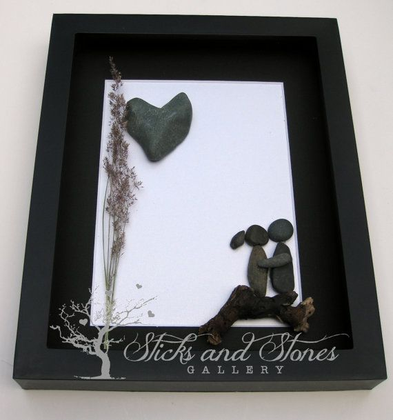 Engagement Gift  Wedding Gift  Unique Couple's by SticksnStone