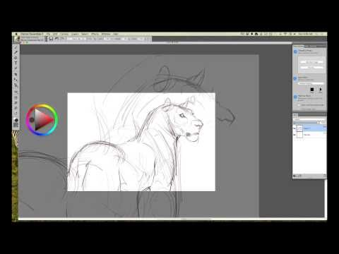 INTUOS ART: Rough Drawing in Corel Painter Essentials with Aaron Blaise - YouTube