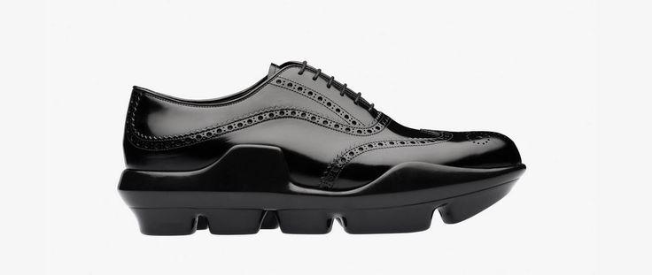 Scarpe Prada Uomo 2016: quanto costano i Modelli della nuova Collezione scarpe Prada uomo 2016 catalogo