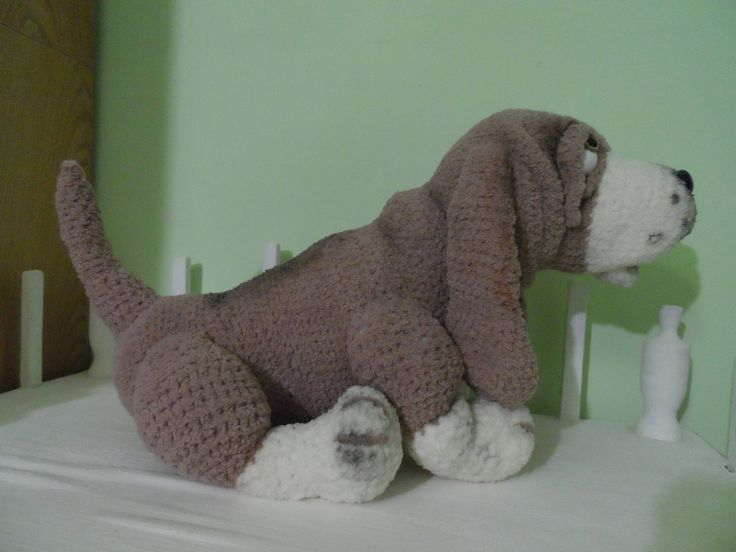 The Basset hound by MarinaCreativeFlight on Etsy