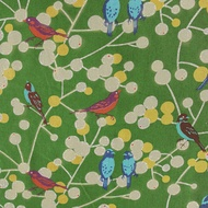 Birdies green, Echino -bambiblauw