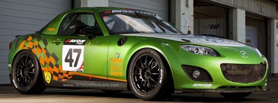 101 Modified Cars - Modified Mazda MX-5 (3rd generation, NC)