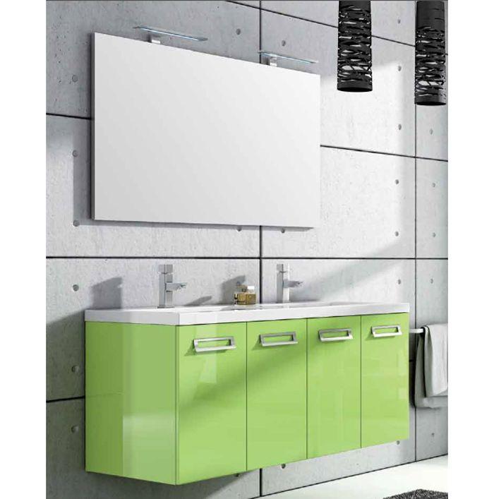 Oltre 1000 immagini su mobili bagno doppio lavabo su pinterest ...