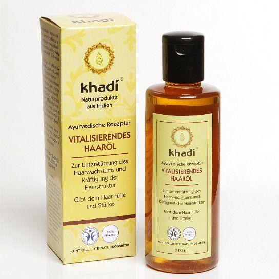KHADI BIO HAJOLAJ VITALIZÁLÓ 210 ML - A haj növekedésének serkentésére. Csökkenti a hajhullást, támogatja a hajnövekedést, erősíti a hajat. Tiszta, ayurvédikus receptúra Indiából. A különleges hatóanyagok és gyógynövények kombinációja megakadályozza a túlzott és a korai hajvesztést.