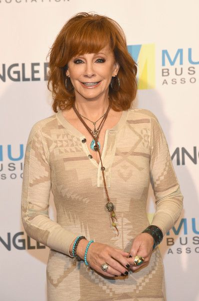 Reba McEntire Photos Photos - Singer Reba McEntire attends the Music Biz 2017 Awards Luncheon sponsored by BuzzAngle Music at Renaissance Nashville Hotel on May 18, 2017 in Nashville, Tennessee. - Music Biz 2017 - 5/18