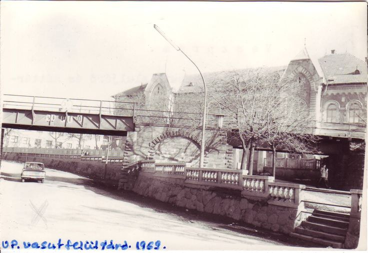 The railway bridge in 1969