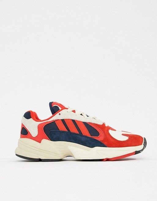 new release exquisite style discount adidas Originals Yung-1 Sneakers In Red Multi | Footwear in ...