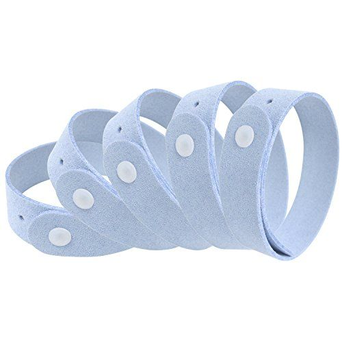 Mosquiban 5 Pack  All Natural Mosquito Repellent Bracelets Powerful Essential Oil Repelling Blend  Guaranteed to Work Fast Easy No Deet Mess Spray or Plastic  30 Day Money Back Guarantee -- Read more at the image link.