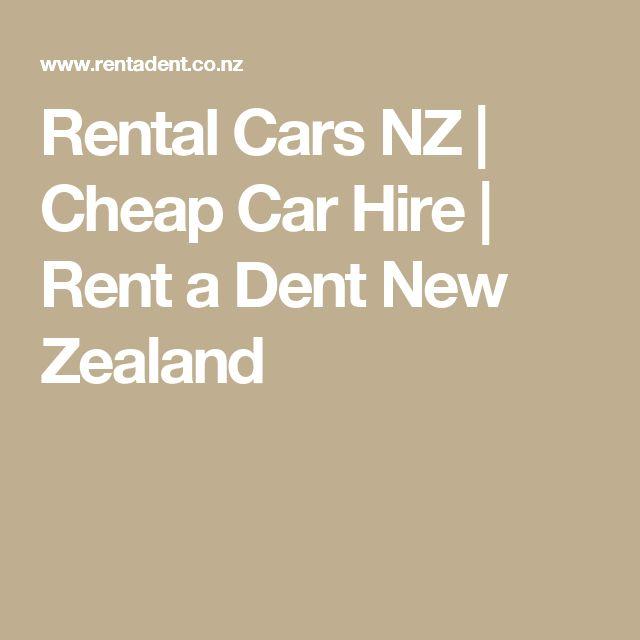 25+ Best Ideas About Car Hire New Zealand On Pinterest