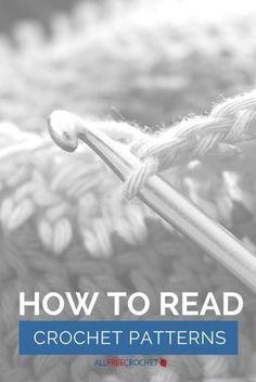 Como ler padrões de crochê - Não é tão fácil quanto parece. Isso vai ajudar...