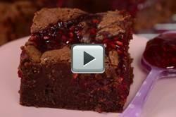 Raspberry Brownies - Joyofbaking.com