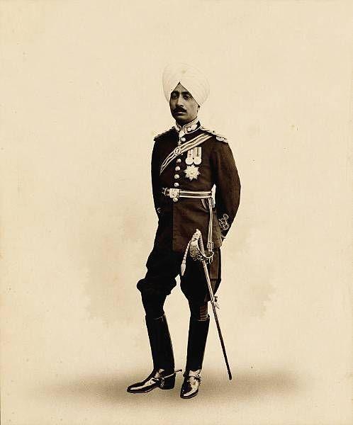 Muhammad Ahmad Ali Khan Bahadur, Nawab Of Malerkotla By Rohit SObkiya