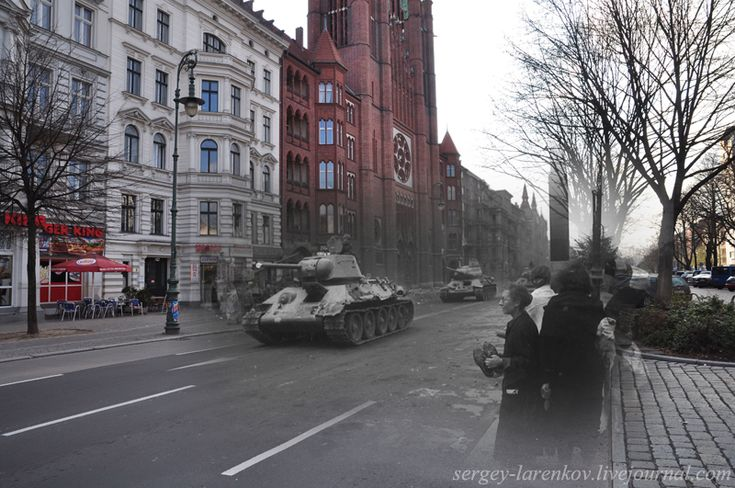 Cool Then and Now Superimposed WWII Pictures - Gallery | eBaum's World