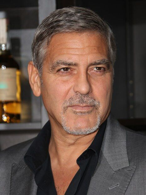 George Clooney goatee looks great