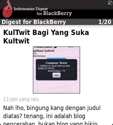 Baca IDBerry.Com dengan IDBerry Digest