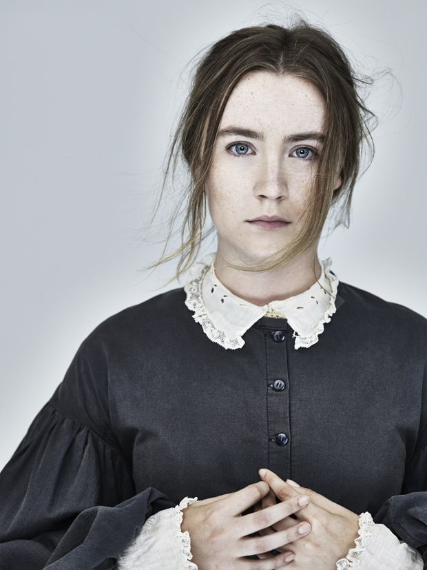 Saoirse Ronan as Abigail Williams in a preview of Ivo van Hove's 2016 Broadway revival of Arthur Miller's The Crucible.