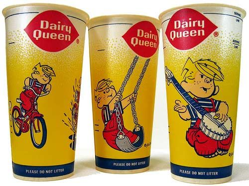 the 80s when Dennis the Menace was the mascot