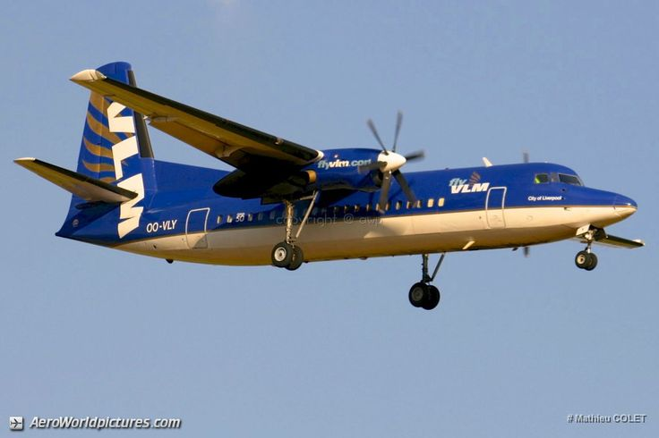 IMG_7756 VLM Airlines Fokker 50 OO-VLY