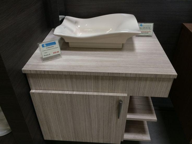 Moderno mueble de baño , es solo una idea ya que se pueden hacer de acuerdo a tus espacios