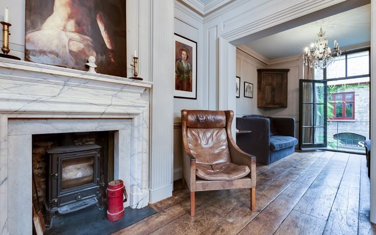 sitting room, georgian house, spitalfields London