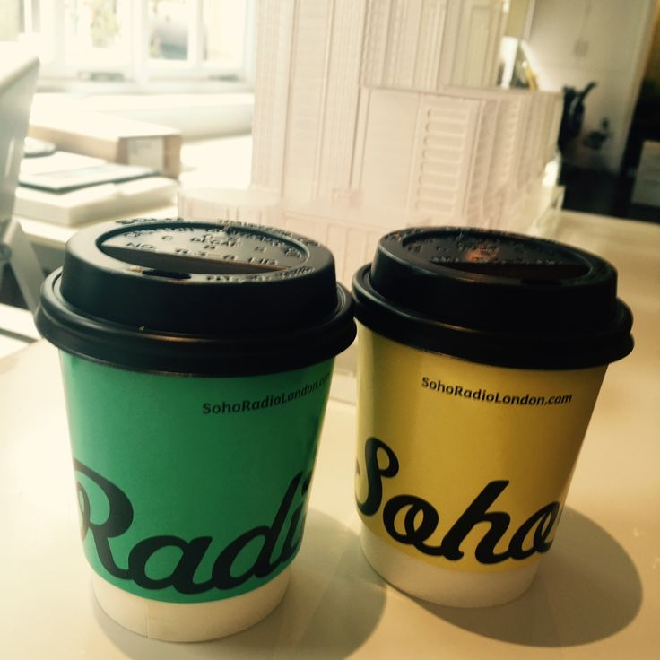 This mornings coffee from sohoradio :)