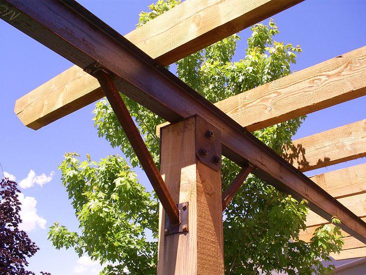 Steel Ibeam Pergola Pergolas Shade Structures Pergola