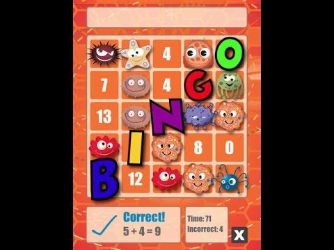 Math Bingo | Educational Math App For Kids