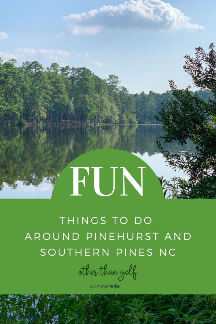 Things To Do Around Pinehurst Southern Pines Nc Not Including Golf Travel Usa North America Travel Usa Travel Destinations