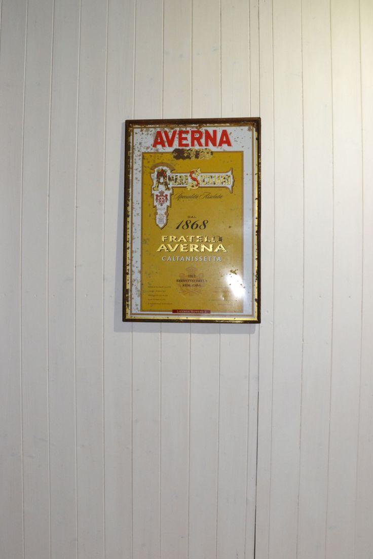 Targa Averna dal 1868 - Licenza numero 1