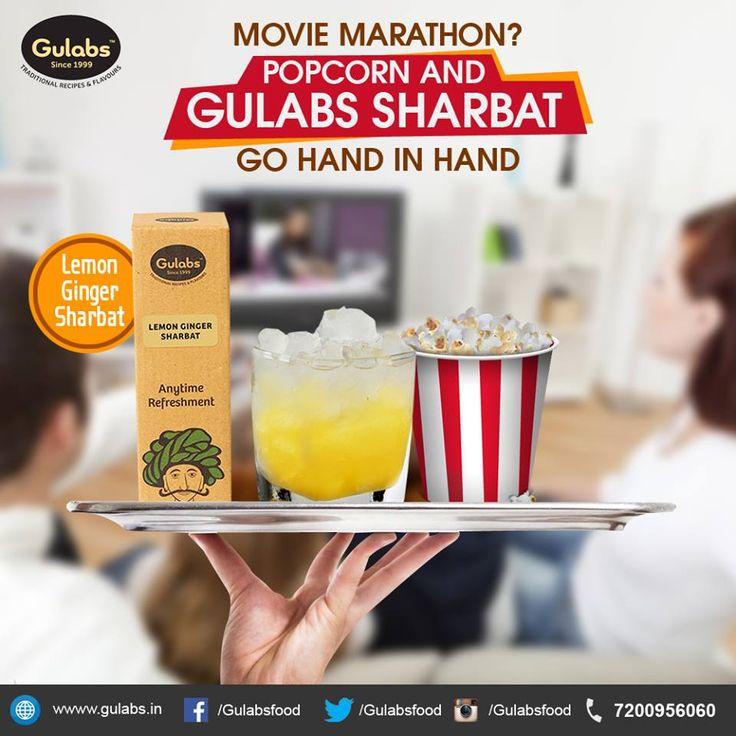 Beat #MidWeekBlues with some movies and #Gulabs #LemonGingerSharbat #drink #summerdrink #sharbat