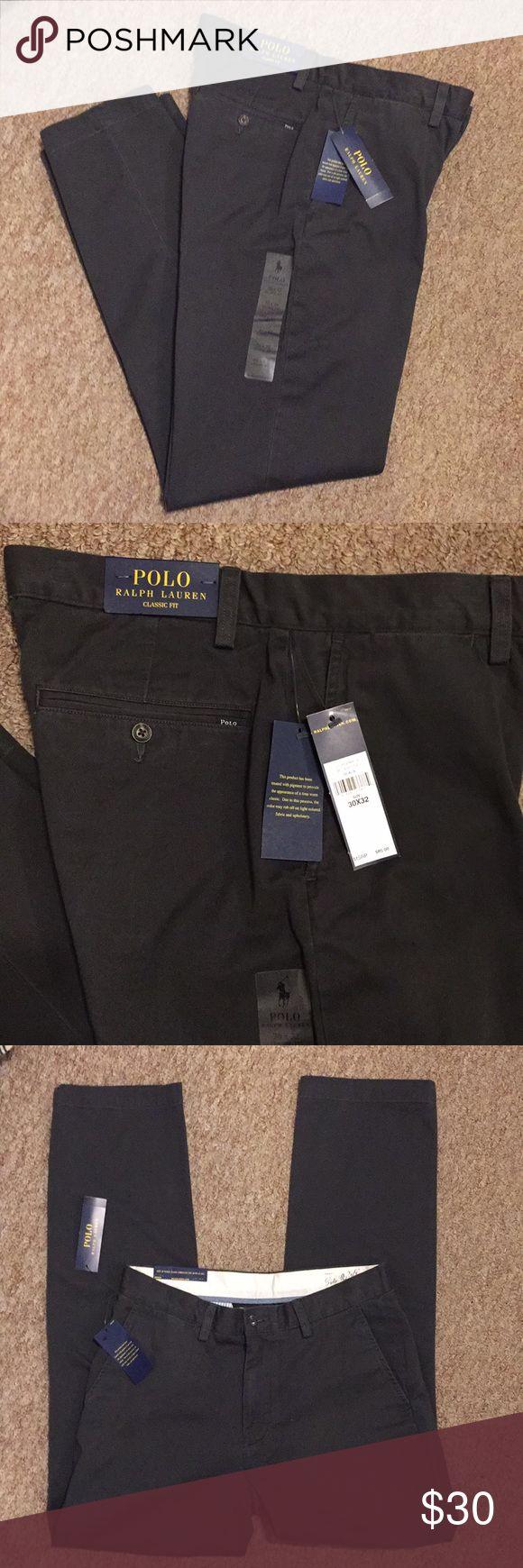 Ralph Lauren men's pants New with tags Ralph Lauren men's pants, size 30X32 classic fit! Polo by Ralph Lauren Pants Dress
