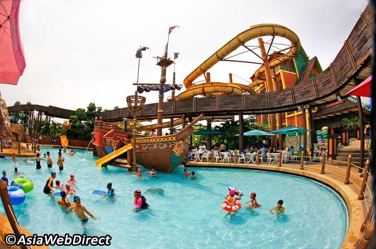 Fantasia Lagoon Water Park at The Mall - Bangkok Magazine. So fun!!!