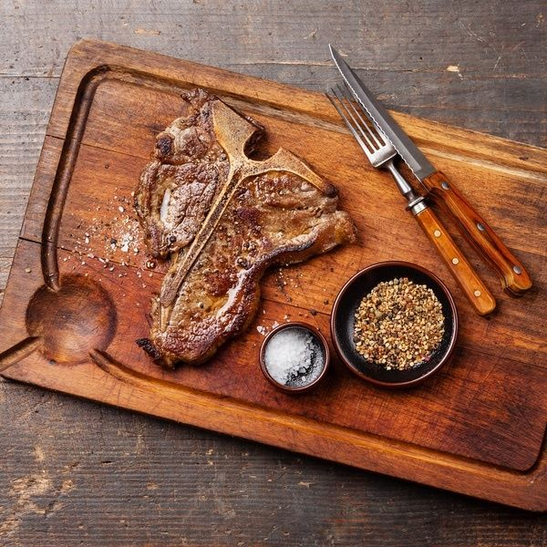 Ruth's Chris T-Bone Steak | Work It, Mom!