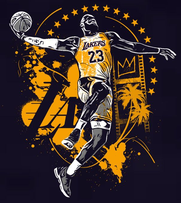 Lebron James Lakers Art Lebron James Wallpapers Lebron James Art Lebron James Lakers