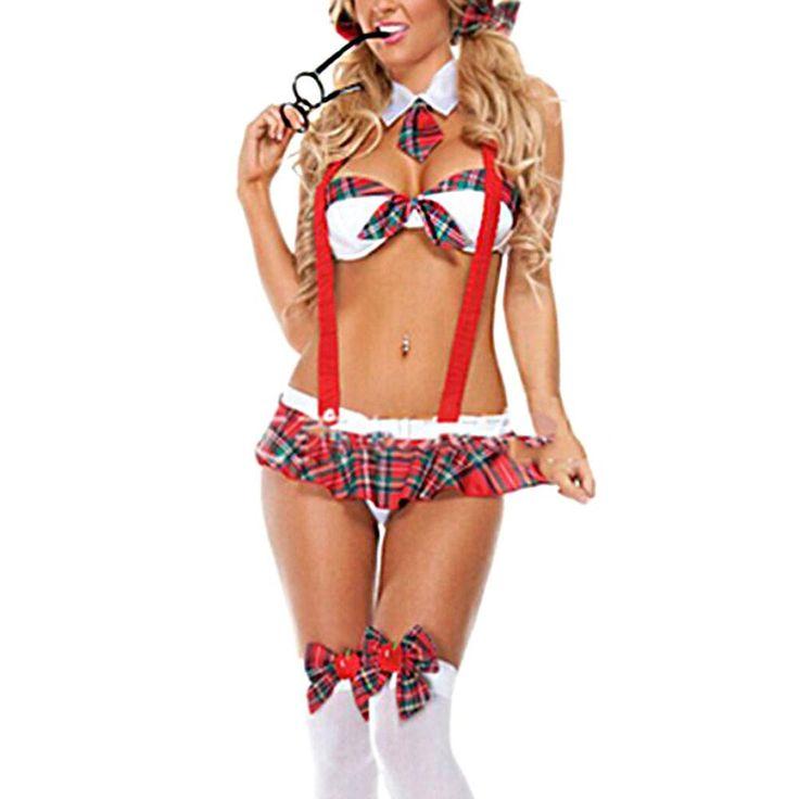 School Girl Costume Uniform Halloween