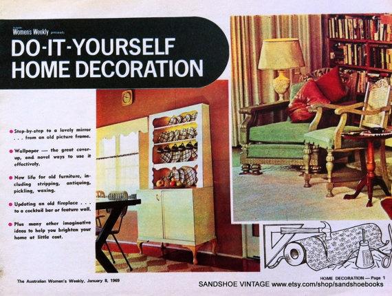 Marvellous Vintage Home Decor Magazine Pictures - Simple Design Home ...