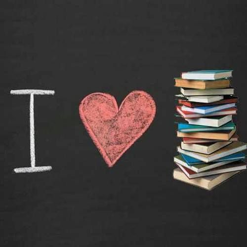 I love books.
