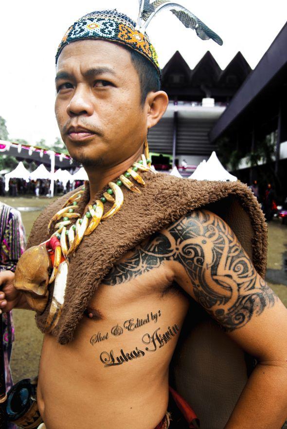 The Batak Man and His Tat