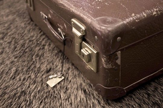 Suitcase oudenmooi VanJoost