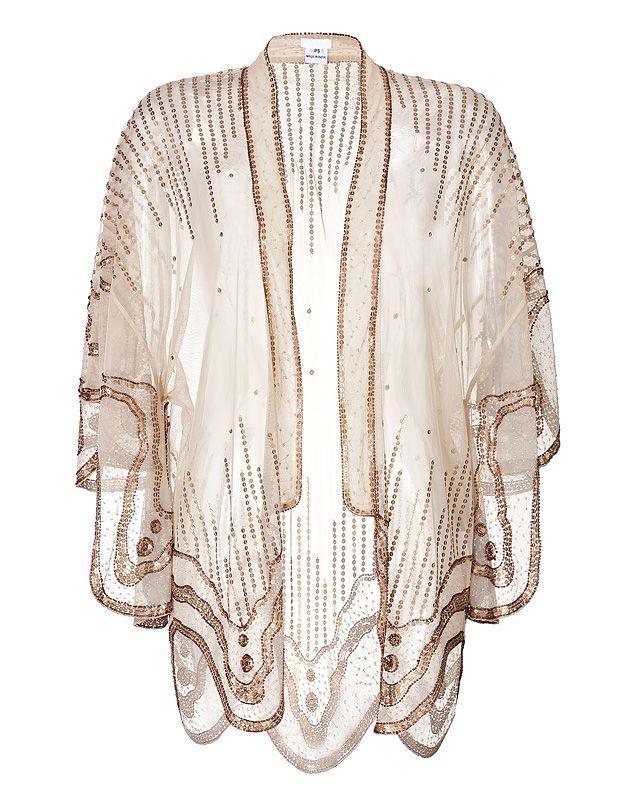 Anna Sui Sequin Kimono