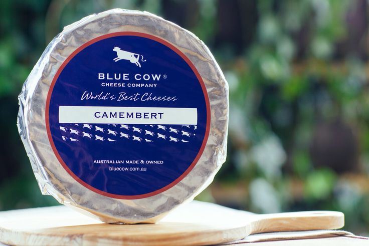 Blue Cow Camembert - Made in the traditional manner of northern France, this  cheese is matured for six to eight weeks. When ripe, the  paste will exhibit a smooth and luscious texture, with a  savoury yeasty nose and a creamy flavour.