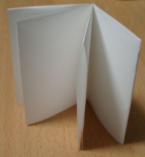 1枚の紙で8Pのミニブックの作り方|ミニブック|文具・本|アトリエ